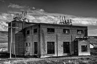 abandoned electric power substation