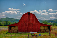 Arkansas Red Barn