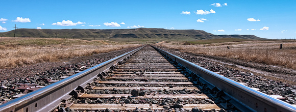 Montana Railroad Tracks