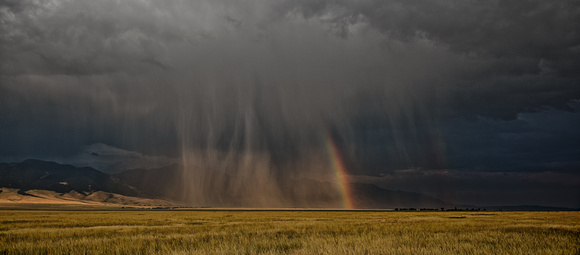 Montana Summer Rainbow Shower